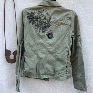 Sanctuary Jackets & Coats - Sanctuary Cotton Jacket Green
